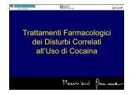Trattamenti Farmacologici dei Disturbi Correlati all'Uso di ... - Dronet