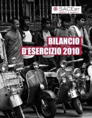 BILANCIO D'ESERCIZIO 2010 - SACE BT