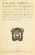 Rime disperse di Francesco Petrarca, o a lui attribuite - Page 7