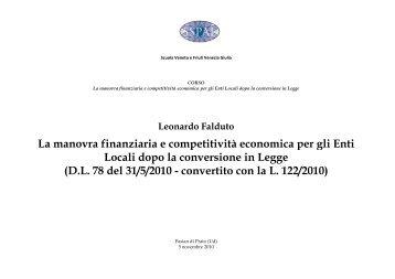 Manovra e EE.LL-Udine [modalità compatibilità] - Piscino.it