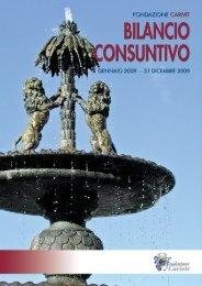 FONDAZIONE CARIVIT BILANCIO CONSUNTIVO 1 gennaio ... - Acri