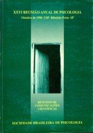 1996 - Sociedade Brasileira de Psicologia