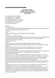 Sez. 1^ Civile, Sentenza n. 5115 del 03 Aprile 2003 - Tribunale per i ...