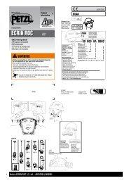 Notice ECRIN ROC A01 réf. : A015100I (240309) 1 - Outdoor Hire