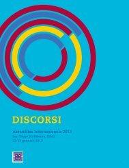 discorsi dell'Assemblea Internazionale 2013 - Rotary International