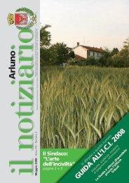 Notiziario maggio 2008 - Comune di Arluno