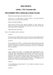 Regio decreto sulla difesa della razza italiana