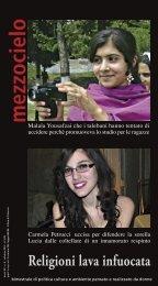 Malala Yousafzai che i talebani hanno tentato di ... - Mezzocielo