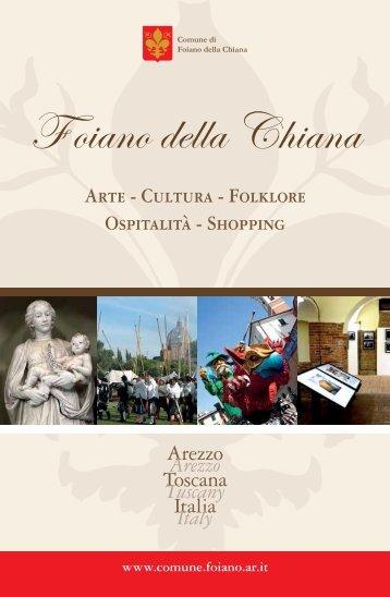 Guida del turista - Comune di Foiano della Chiana