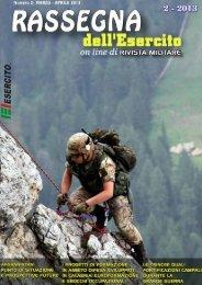 Rassegna dell'Esercito 2/2013 - Esercito Italiano - Ministero della ...