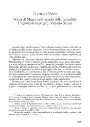 di Vittorio Sereni