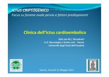 Clinica dell'Ictus cardioembolico