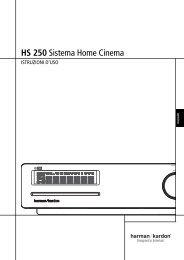 HS 250 Sistema Home Cinema - Harman Kardon