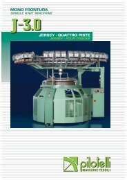 Display catalogue - Pilotelli Macchine Tessili Srl
