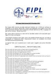 XII Coppa Italia-Cecina 26/27/28 ottobre 2012 ... - Powerlifting Italia