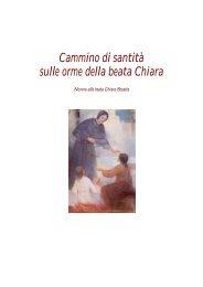 NOVENA A SUOR CHIARA - Figlie di Santa Maria della Provvidenza