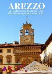 Le manifestazioni della provincia di Arezzo 201 1 - ArezzoTurismo