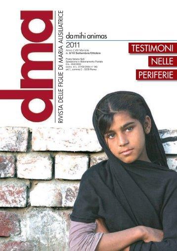 Scarica la rivista - FMA Figlie di Maria Ausiliatrice