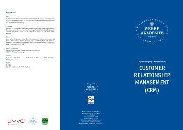 CUSTOMER RELATIONSHIP MANAGEMENT (CRM) - media4more