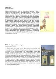 Libri Adulti Dicembre - Comune di Torreglia