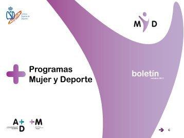 Boletín M y D octubre 2011 - Consejo Superior de Deportes