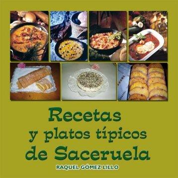 recetas y platos típicos de saceruela - Diputación Provincial de ...