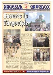 Argeșul Ortodox nr. 370 - Argesul Ortodox