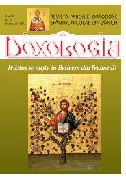 Doxologia - Revista parohiala Nr. 4 -