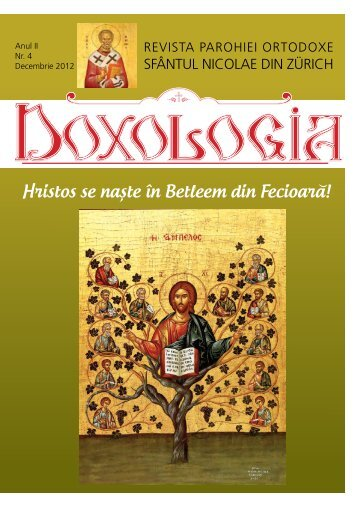"""Doxologia - Revista parohiala Nr. 4 - """"SFÂNTUL NICOLAE"""" din ..."""