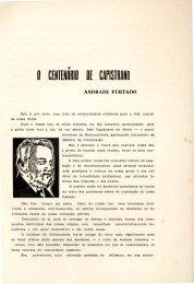 o Centenário de Capistrano - Andrade Furtado - Portal da História ...