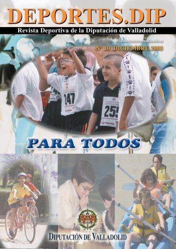 Revista Deportiva de la Diputación de Valladolid