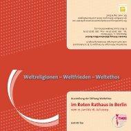Flyer zur Ausstellung (mit Begleitprogramm) • pdf - Stiftung Weltethos