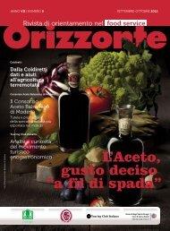 Per leggere tutto l'articolo scarica la rivista completa in PDF - Orizzonte