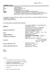 LOMBARDI PAOLA Oggetto dell'affidamento - Agenzia del Demanio