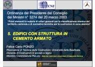 5. EDIFICI CON STRUTTURA IN CEMENTO ARMATO - CRIS