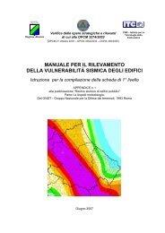 Manuale della scheda GNDT - I livello (pdf 3.39 ... - Regione Abruzzo