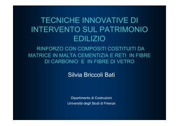 Firenze GFRCMSilvia Briccoli Bati.PPT - Federazione degli Ordini ...