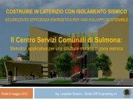 Il Centro Servizi Comunali di Sulmona - Enea