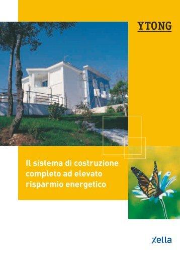 Il sistema di costruzione completo ad elevato risparmio ... - Infobuild