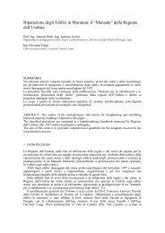 """Riparazione degli Edifici in Muratura: il """"Manuale"""" della ... - Anidis"""