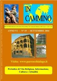 boll 19 - Parrocchia San Nicola e Santuario Madonna delle Grazie
