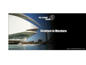 Strutture in muratura - Angelo Biondi