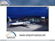 Airport Weeze - media city werbung