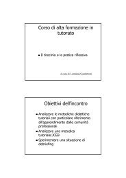 [pdf] Microsoft PowerPoint - Gamberoni_il tirocinio e la pratica riflessi