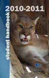 2010-2011 Student Handbook - Collin College