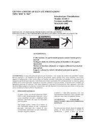 Form 16-601-1-Italian-Kop-Flex High Performance RM & RZ Coupling