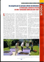 Servizi Sociali Oggi 2/2011 - Cerino Zegna