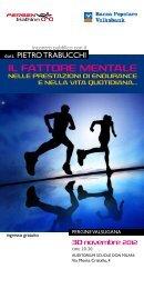 2012-11-30 Il Fattore Mentale nelle Prestazioni di Endurance e nella ...