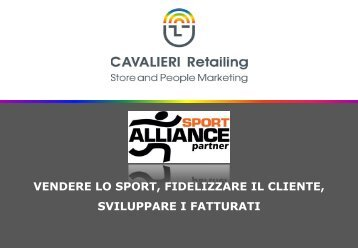 piano formativo affiliati sportalliance - Sport Alliance negozi sportivi