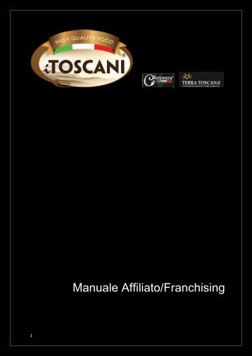 Manuale Affiliato/Franchising - Chapeaufood.com